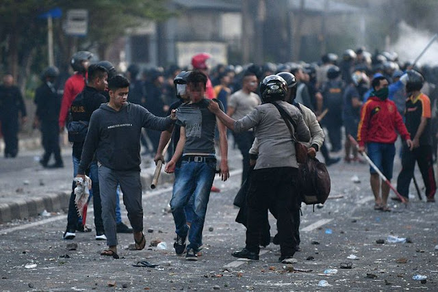 Polisi Tangkap 69 Provokator, Mayoritas dari Banten, Jabar, dan Jateng