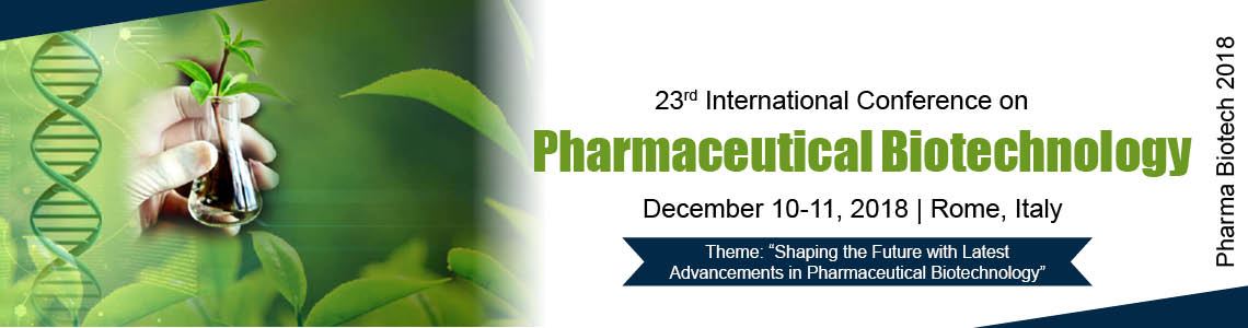 23<sup>rd</sup> International Conference on Pharmaceutical Biotechnology