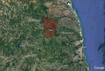 Tremores de terra são registrados, entre domingo e terça, em cidade do RN