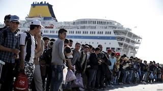 Σάμος: Έφτασαν οι 1.000 πρώτοι μετανάστες που έστειλε η Γερμανία