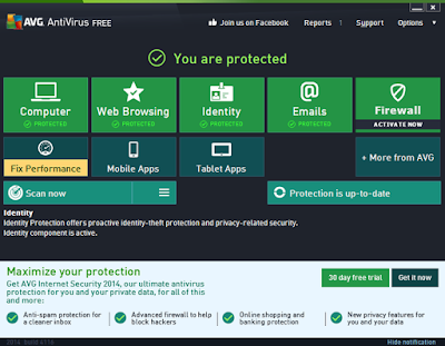 Free Download AVG AntiVirus  2017 With Serial Key