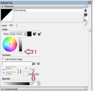 Cara Bikin efek Kaca Bening Transparant di Vray Sketchup