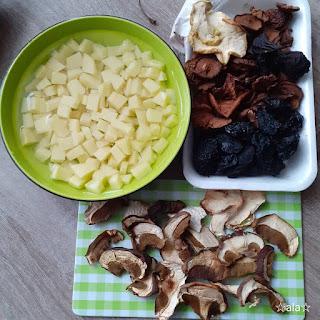 zupa brzadowa, zupa z suszonych owoców