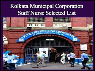 Kolkata Municipal Corporation Recruitment 2021 For 205 Vacancy For Staff Nurses Post