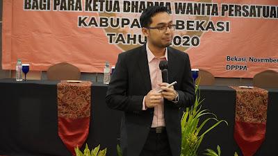 Seminar Motivasi New Normal 2021 Bersama Keluarga ASN Kabupaten Bekasi dan Motivator Muda Indonesia Edvan M Kautsar Online Offline