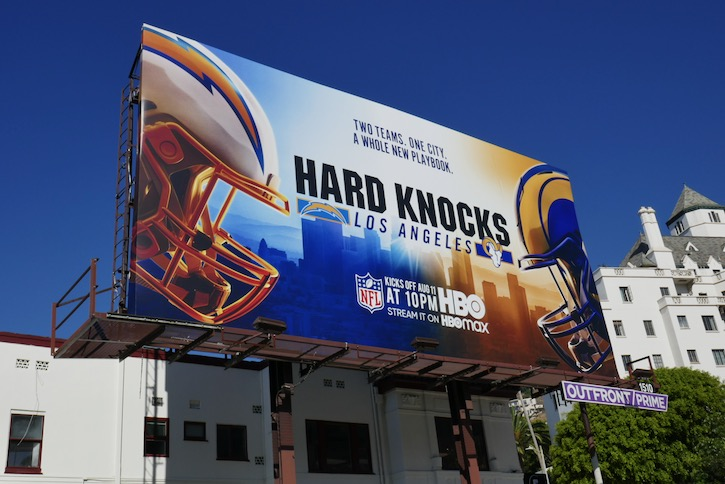 Hard Knocks Los Angeles 2020 billboard