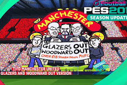 Tifo Man United Glazers And Woodward Out - PES 2017
