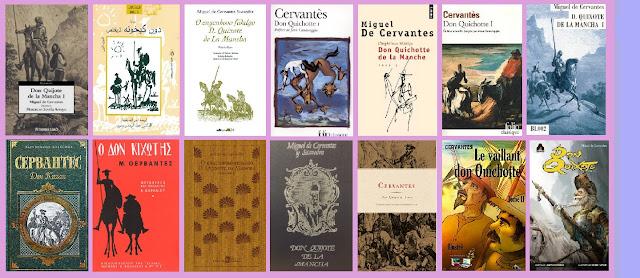Portadas de El ingenioso hidalgo don Quijote de la Mancha