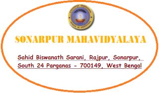 Sonarpur Mahavidyalaya, Sahid Biswanath Sarani, Rajpur, Sonarpur, South 24 Parganas - 700149, West Bengal