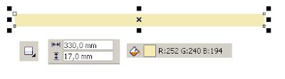 Cara Membuat Banner dengan CorelDRAW X4 , mewarnai dan membuat objek di corel