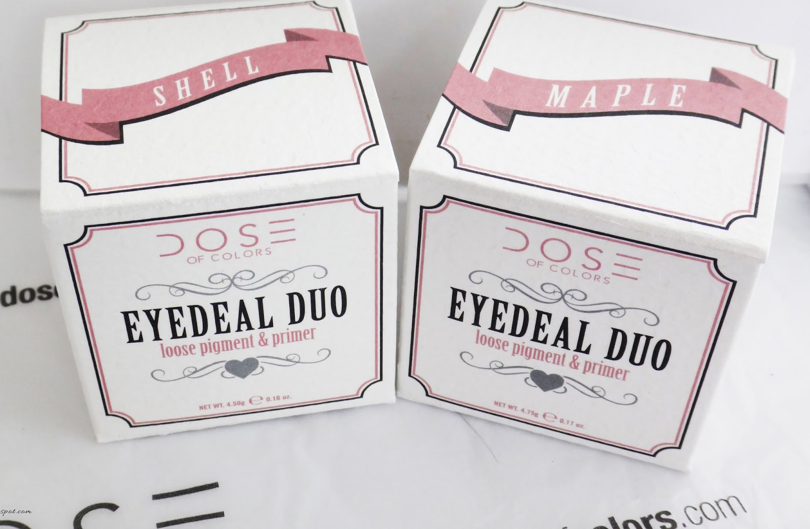 Dose of Colors eyedeal duo - maple shell