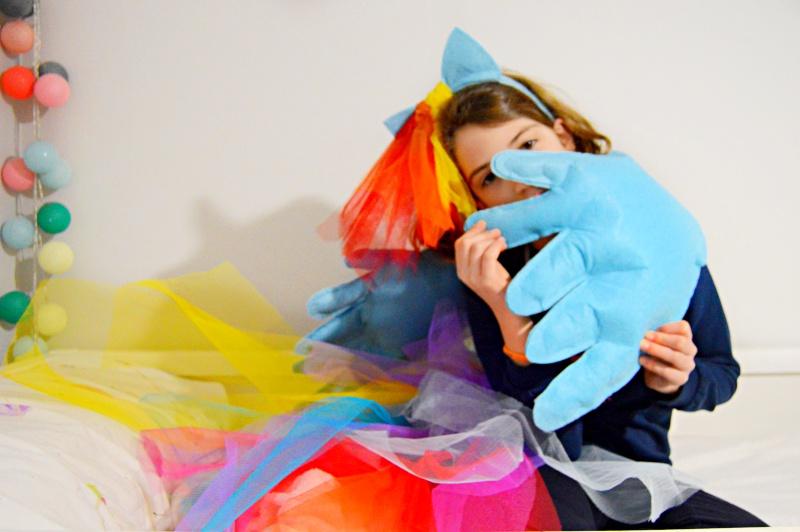 Como hacer un disfraz de Rainbow Dash