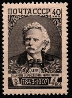 Russia 1957 - Edvard Grieg