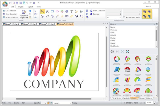 Screenshot EximiousSoft Logo Designer Pro 3.90 Full Version