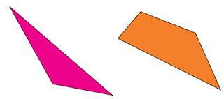 Segi banyak tidak beraturan mempunyai panjang sisi dan besar sudut yang tidak sama www.simplenews.me