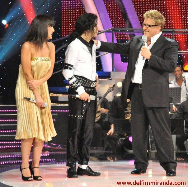 Delfim Miranda - Michael Jackson Tribute - TV enterview with Herman José