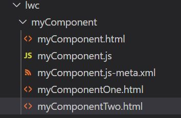 How to render multiple template in Lightning Web Components