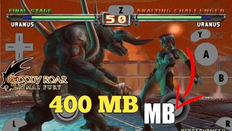 400 MB Bloody Roar Primal Fury Gamecube Game Highly Compressed File