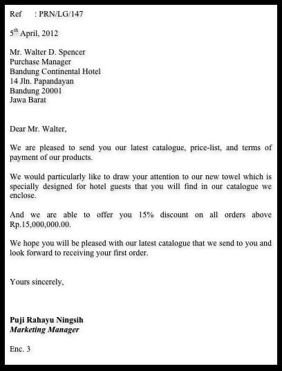 Blog Puji Rahayu Sales Letter Full Block Style