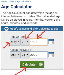 Age Calculate Kaise Kare