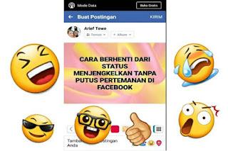 Cara Berhenti Status Facebook Menjengkelkan