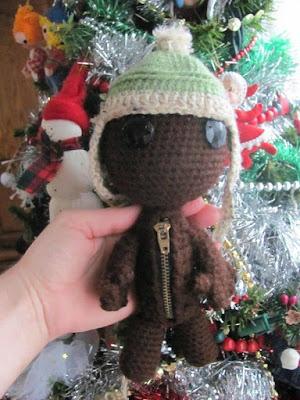 crochet sack doll