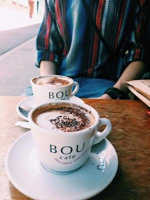 Kawa w Barcelonie