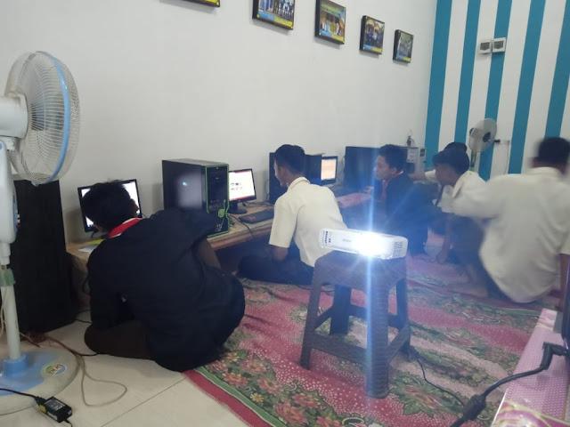 SMK Muhammadiyah PKL Di LKP Zero Computer Ambarawa