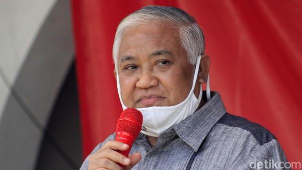 Ditanya soal Statusnya di MWA ITB, Din Syamsuddin: No Comment!