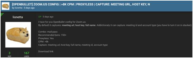 Zoom Accounts
