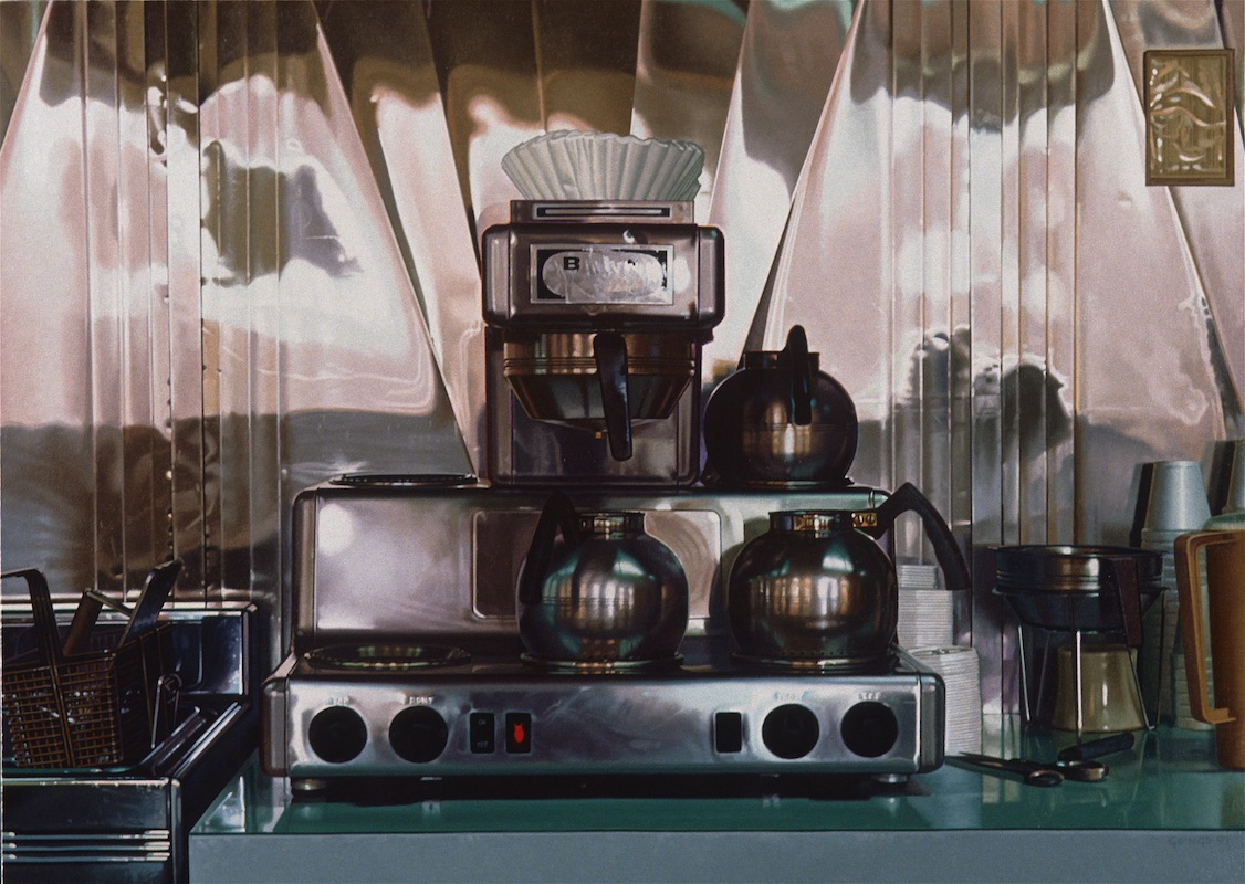 09-Coffee-Machine-Desert-Storm-Ralph-Goings-Hyper-Realistic-Paintings-of-Everyday-Scenes-www-designstack-co