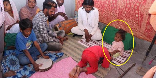 طفل في عمر الـ21 عاما تحوّل إلى إله يُعبد في الهند تعرف على تفاصيل القصة كاملة بالصور