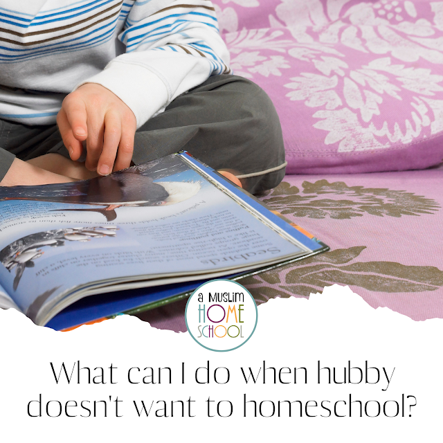 homeschool coaching - what to do when your husband doesn't want to homeschool