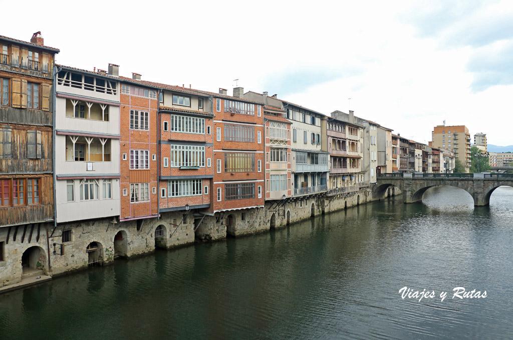 Casas del Río Agout, Castres