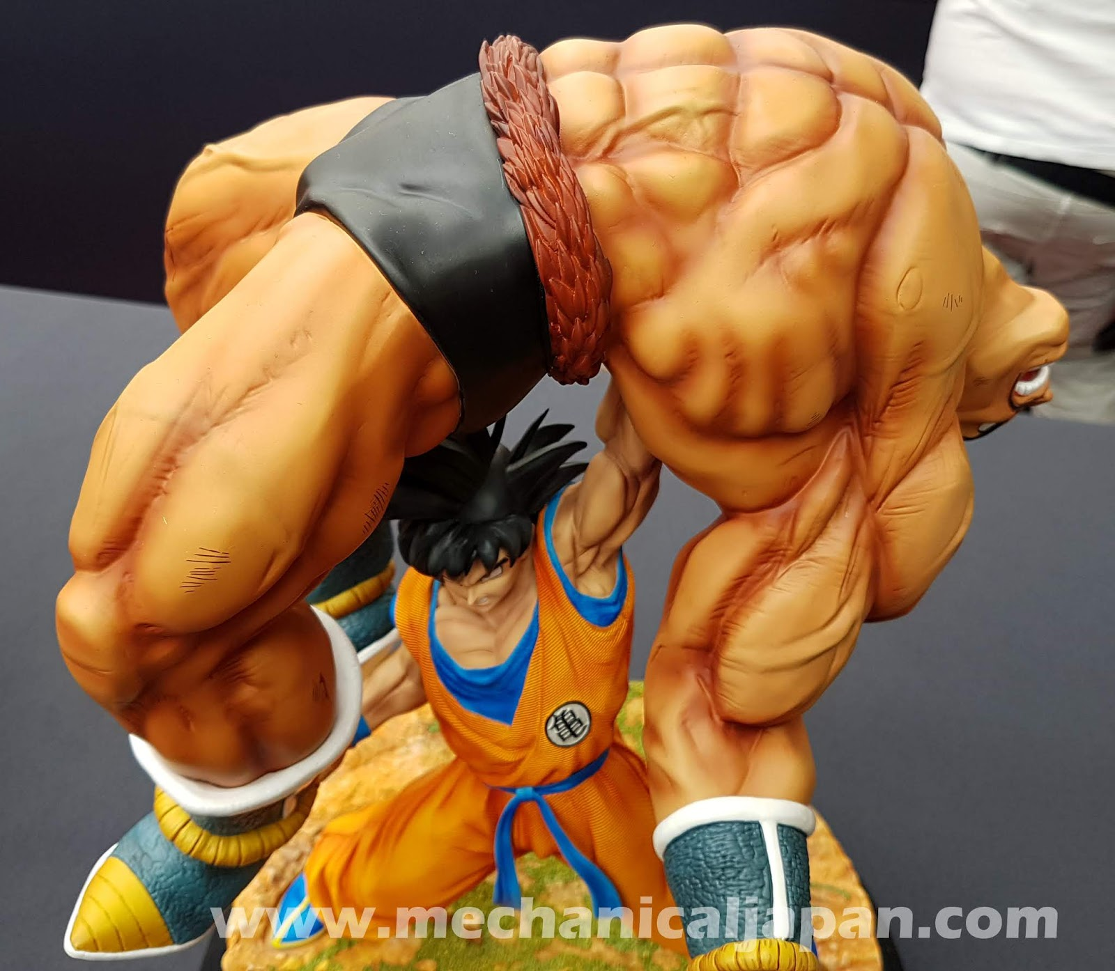 Review Figura The Quiet Wrath Of Son Goku HQS Po Tsume Art