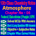 10 Class Chemistry | Atmosphere Notes