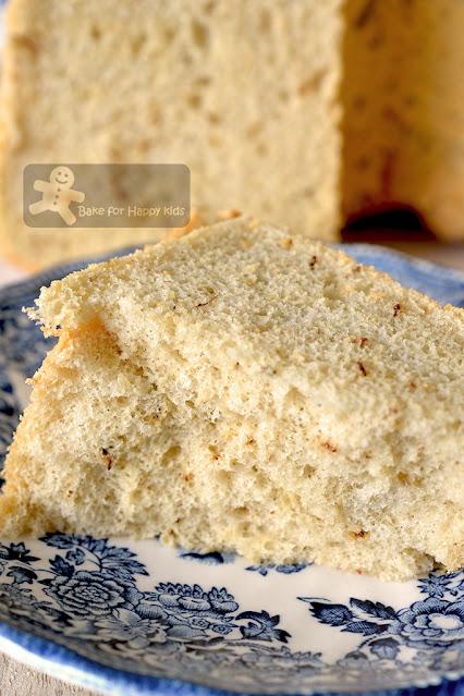 perfect ultra cottony soft tea chiffon cake