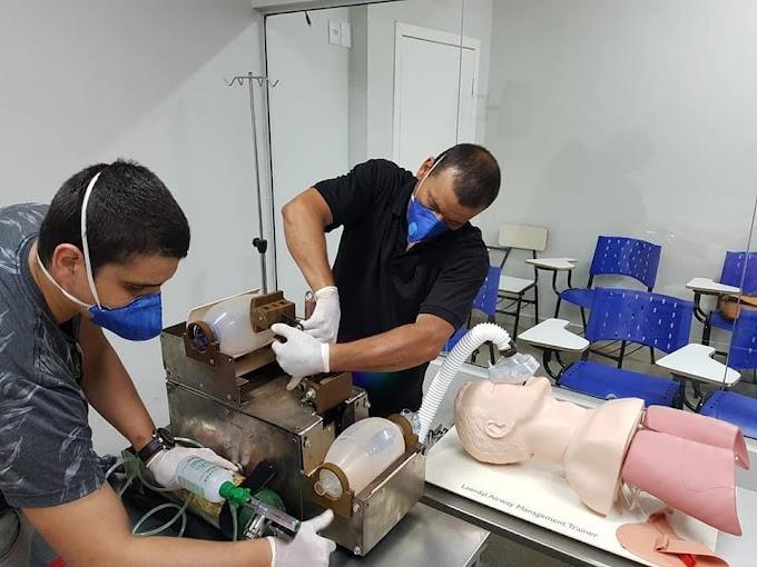 Estudante desenvolve ventilador pulmonar para auxiliar pacientes da COVID-19