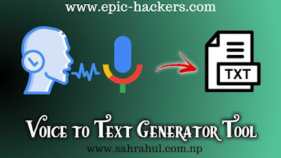 How To Create Voice To Text generator Tool For Blogger