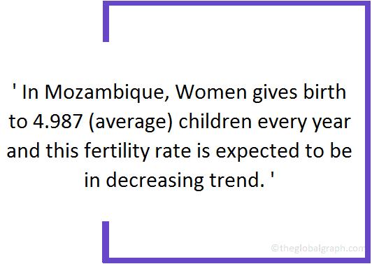 Mozambique  Population Fact
