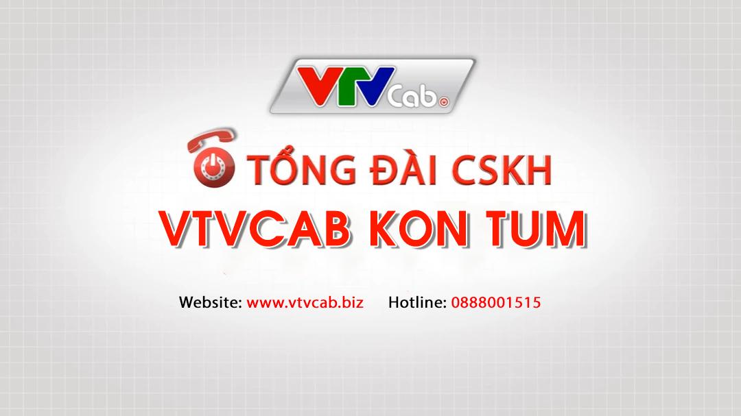 VTVcab Kon Tum - Đăng ký lắp truyền hình cáp + Internet VTVcab