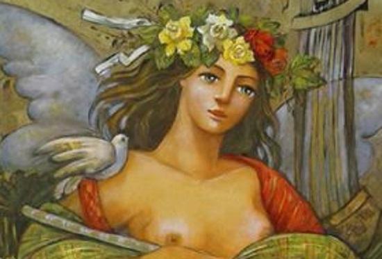 Έκθεση ζωγραφικής της Χάρις Τσεκούρα στην Λάρισα