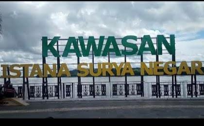 Pesona Kawasan Istana Surya Negara, Kabupaten sanggau