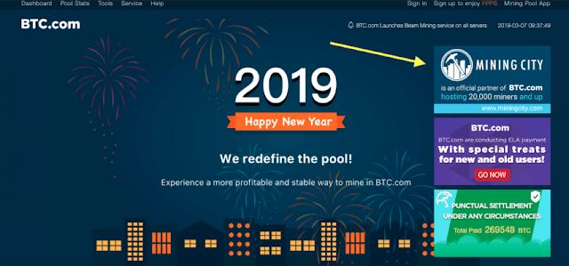 Mining City - Tổng quan dự án  và đánh giá đối tác của BTC.com | Pool đào BitCoin  lớn nhất thế giới