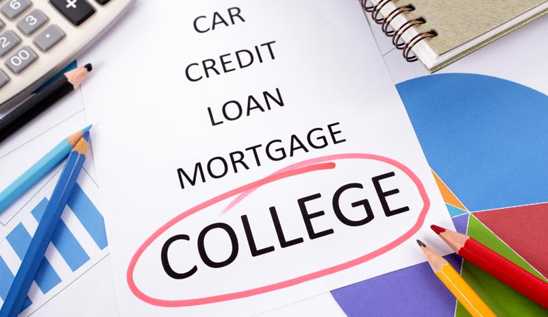 College Expense, College Loan, College Worth