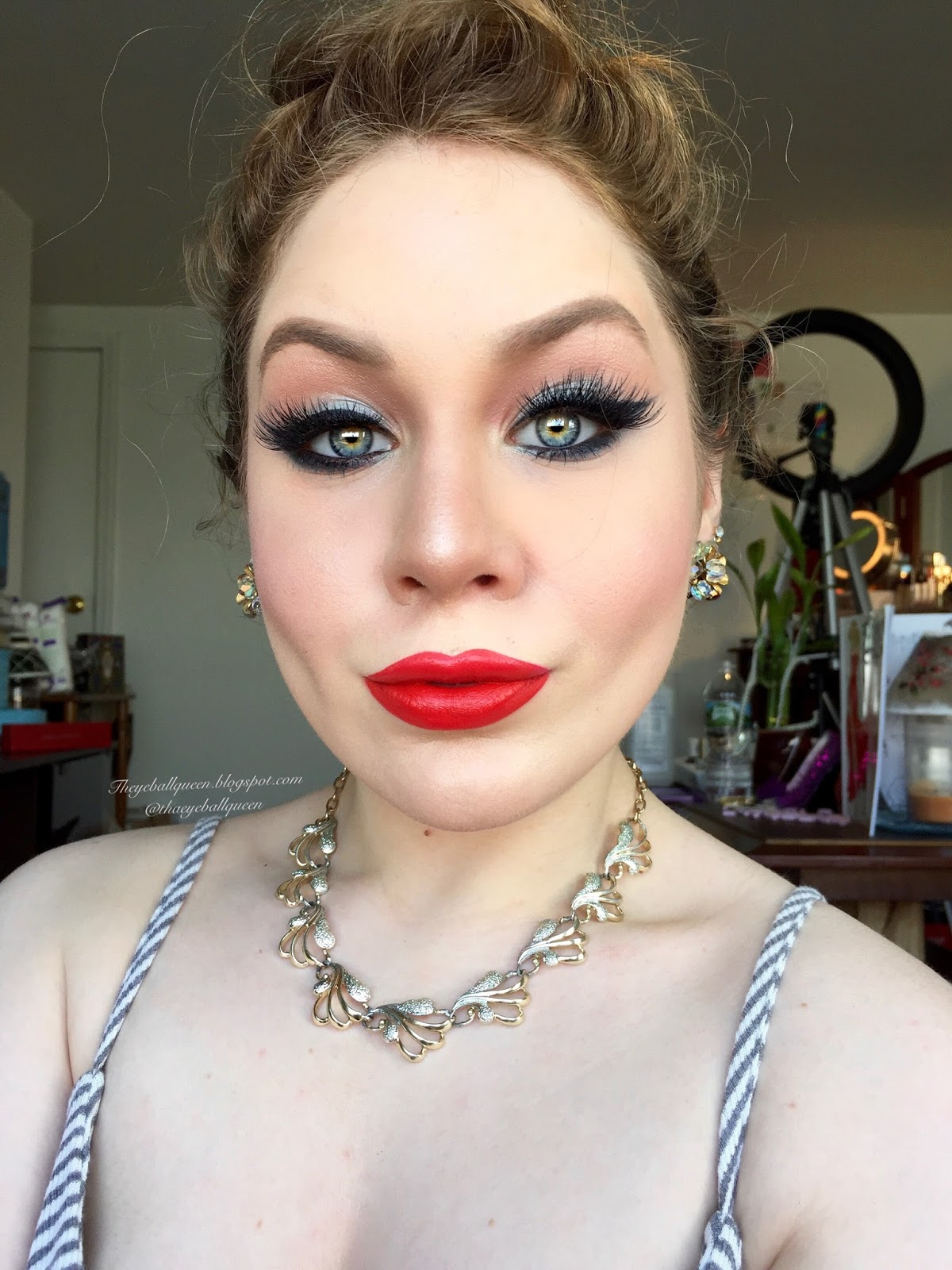 Classic 1950's Barbie Makeup Tutorial