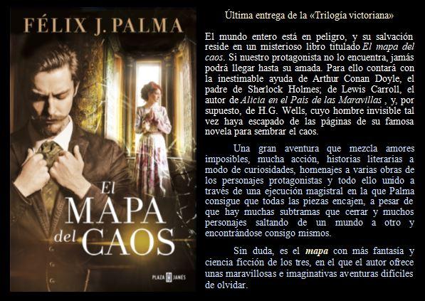 El mapa del caos de Félix J. Palma