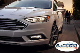 2017 Ford Fusion Exterior Photo