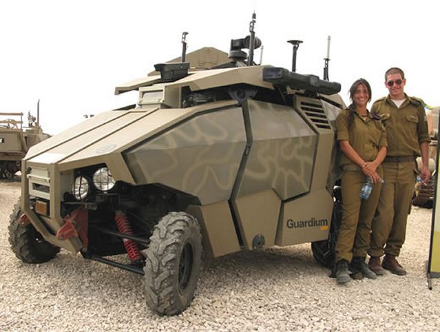 World Defence News Unmanned Ground Vehicle Ugv Guardium