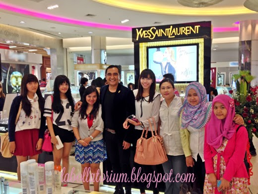 Beauty Event - Romancing with YSL (Yves Saint Laurent) beauty bloggers